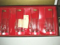 VINTAGE LENOX CRYSTAL HAND BLOWN  SET OF 4 HOT TODDY GLASSES NEW IN BOX