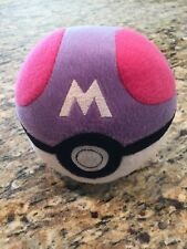"Plush Pokemon Pokeball 5"" Tomy"