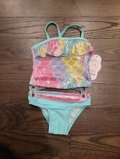 New listing Bundle: set of 2 12 Month Baby Girl Swim Suits