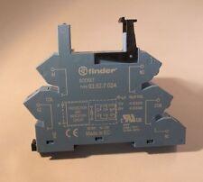 FINDER Relais Fassung für 41.52 .61 Serie 93.52.7.024 Zugfederklemmenfassung