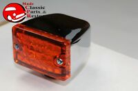 AMBER LED Turn Signals for Car Trailer Custom Built Hot Rat Rod Low Profile Slim