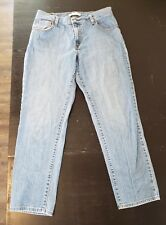 """LEVI'S 550 Women's Tapered Legs 5 Pockets Relaxed Fit Medium Jeans Size 12 """"C4"""""""