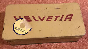 Vintage Helvetia Sewing Accessory Tin