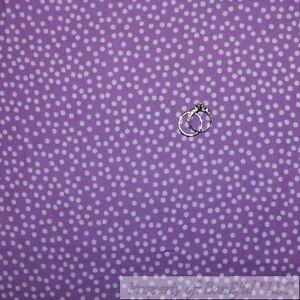 BonEful Fabric FQ Cotton Quilt Purple Tone Tonal Small Little Calico POLKA DOT S