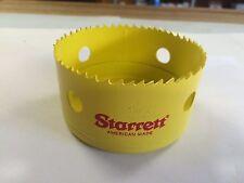 """Starrett 55116 3-5/8"""" Safe-Flex Hole Saw, Nos, Catalog Number H0358, Usa Made"""
