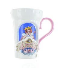Mary Engelbreit Me The Queen of Everything 2000 Teleflora Gift Mug Cup Castle L3