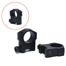 25.4mm 1Pair Ring Rifle Scope Mount Tactical Weaver Rail Medium Width ProfileDS