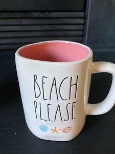 New Rae Dunn Beach Please Mug