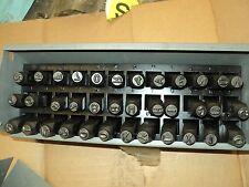 "Value Brand 1F117 Letter and Number Set, 1/4"", Steel"