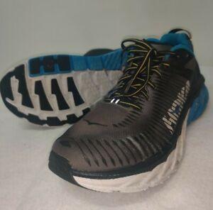 Hoka One One Arahi 2 Running Shoes Men 12 Sneakers Black Blue White1019275 BCCG