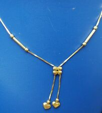 14k yellow gold   necklace heart