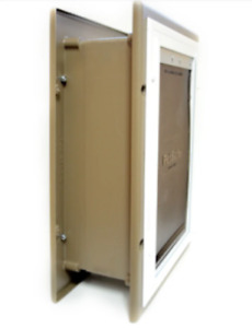 Medium and Large Original PetSafe Pet Door for Walls