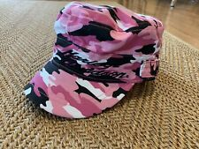 Harley Davidson Womens Hat Cap Cadet Military Pink Camo