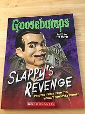 GOOSEBUMPS Slappy's Revenge Twisted Tricks from the World's Smartest Dummy NEW