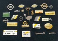 OPEL historische Abzeichen Anstecknadel/n stick pins AUSSUCHEN