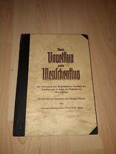 Vom Vogelflug zum Menschenflug - Buch Fachbuch Fachliteratur 1940