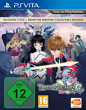 Tales of Hearts R Sony PlayStation Vita