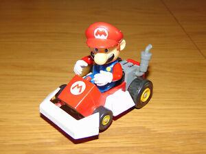 "Nintendo Super Mario Kart DS Race Track Slot Car ""Mario"" Toy Figure"