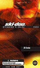 Ski-Doo owners manual book 2003 LEGEND SPORT V-1000 & GRAND TOURING SPORT V-1000