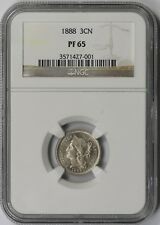 1888 3CN NGC PF 65 Nickel Three-Cent Piece