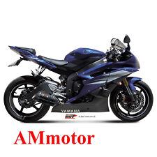 Mivv Yamaha Yzf 600 R6 2009 09 Terminale Di Scarico Marmitta Suono Black Moto
