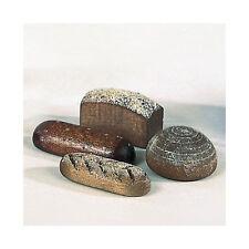 Bodo Hennig 27012 Miniatur 4 Brote dunkel 1:12 für Puppenhaus NEU!   #