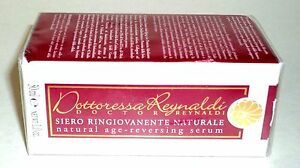Dottoressa Reynaldi Natural Age-Reversing Serum 30ml New In Factory Sealed Box