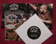 "Wisdom In Chains  - Twitching Tongues - 7"" -  Split - Erstpressung"