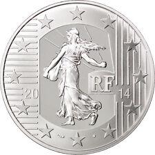 EUR, Vème République, 10 Euro Semeuse 2014 #26398