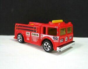 1976 FIRE Eater ENGINE HOT WHEELS Vintage Metro 122 Truck Mattel Red & Yellow