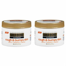 2 Pack Gold Bond Ultimate Rough & Bumpy Skin Daily Therapy Cream - 8 oz Each