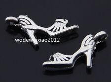 20pc Tibetan Silver shoes Charm Pendant accessories Beads  wholesale  PL220
