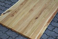 Waschtisch Tischplatte Platte Akazie Massiv Holz mit Baumkante NEU Leimholz