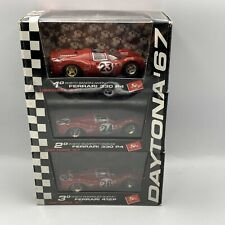 1/43 1967 Ferrari 330 P4 Daytona Sweep  Limited 3 Car Set  Bandini Rodriguez
