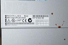Siemens SIMATIC PC IL40S 6BK1000-0RC20-0AA0 512MB RAID 2x80 6BK1 000-0RC20-0AA0