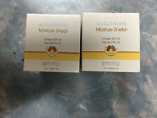 Lot of 2 Avon Solutions tinted moisture shield spf 15 new in jars 1.7 oz