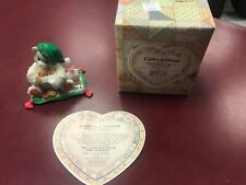 """Calico Kittens """"Have yourself a Meow-y Little Christmas� 2002 Enesco Figurine"""