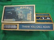 Vintage 1981 Camel Cigerette Digital Clock