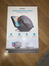 Atomi 10W Qi wireless wake, charger and alarm clock