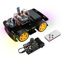 Freenove 4WD Car Kit with Remote (Compatible with Arduino IDE) Ultrasonic Servo