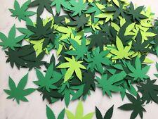 Cannabis Confetti - Pot Confetti - Weed CBD Party - Marijuana Party Decorations