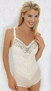 34B - New Super Miss Mary of Sweden Lace Non-wired Body White 34B (EU 70B) 3833