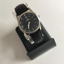 Le Chateau Ladies Watch 2670L - Black Face And Black Leather Band