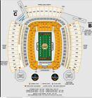 2 Tickets Steelers vs Seahawks 50 yard line lower level