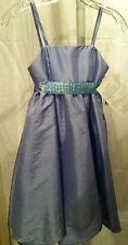 New WA WA by Watters Girls Size 6 Luminescent Jasmine Taffeta Formal Gown Dress
