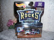 HOT WHEELS NASCAR ROUSH FORD TAURUS AMERICA ROCKS W/ GUITAR 1999 MATTEL MIP