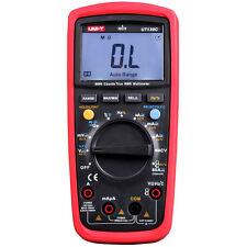 UNI-T UT139C Auto Range Digital True RMS Multimeter DMM AC DC Voltage Tester