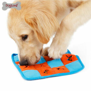 Dog Sniffing Mat Squeaky Nosework Puzzle Stress Relief IQ Training Fun Toy