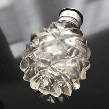 BACCARAT RARE FLACON A SEL XVIIIè Cristal Georgian FRENCH SCENT BOTTLE 18thC