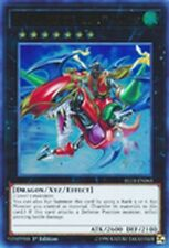 1 X Gaia Dragon, the Thunder Charger BLLR-EN065 Ultra Rare Mint YUGIOH